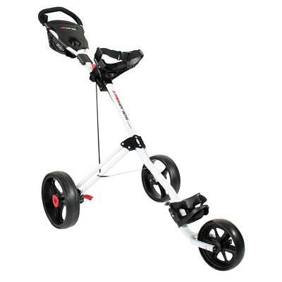 Masters Golf 5 Series 3 Wheel Trolley (White)