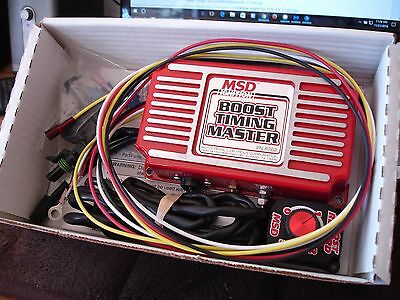 New In Box--------MSD 8762 Boost Timing Master for use with MSD Ignition Control