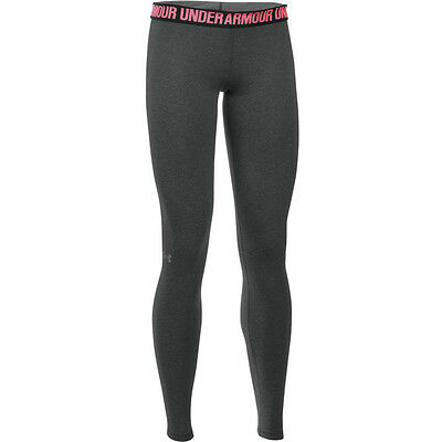 Under Armour Favorite Solid Leggings Women Hose Leggings carbon 1287136-090