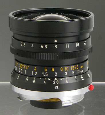 Leica Elmarit 28mm f/2.8 1st version _M bayonet_Leitz M2 M3 M4 M5 M6 M7 M8 M9 MP