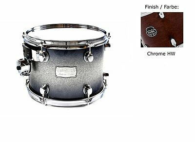 "Mapex Saturn IV 12""x9"" Tom Tom Transparent espresso Walnut 70% Reduziert!!!!"