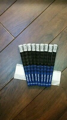 Golf Pride Multi Compound MIDSIZE Blue/Black       ( 3 Grips ) & free Grip tape