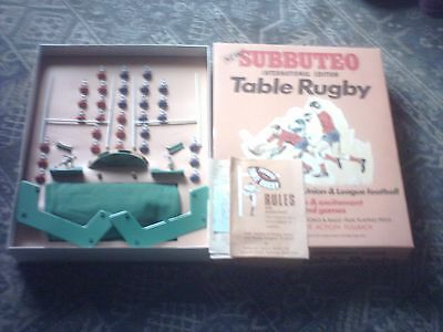 Subbuteo Table Rugby League Set ( Halifax v Wigan).