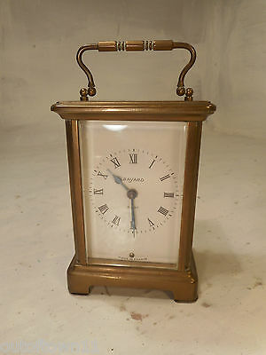 Vintage Brass cased 8 day Carriage Clock   ref 2508