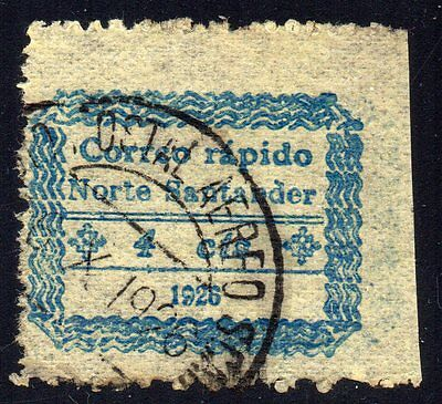 COLOMBIA - SCADTA - COSADA - FIRST ISSUE - 4c STAMP W/ PRINTER'S VARIETY - 1926