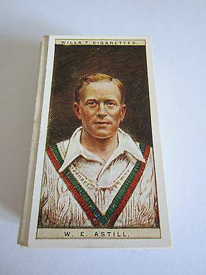 """WILLS'S """" CRICKETERS"""" 1928 F/S [t]"""