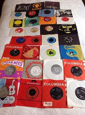 Collection Of 31 Single Records