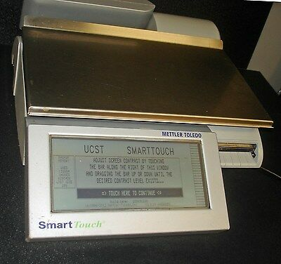 Mettler Toledo Smart Touch Scale UC-ST UCST Deli Scale & Printer