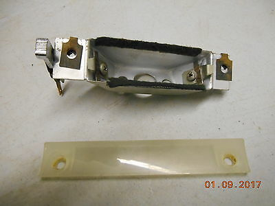 1957 1958 Cadillac dash map light
