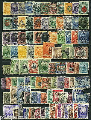 PERU Old Mint& Used x90+ from albums [P298