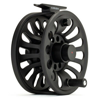 Vision Deep Fly Fishing Reel Deep Arbour Machine Die Cast Strong Durability