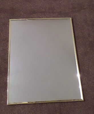 "Good Practical/Functional Wall Mirror with Slim Edge, approx 16"" x  20"""