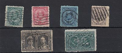 Canada.6 -- E7  Used Stamps On Stockcard