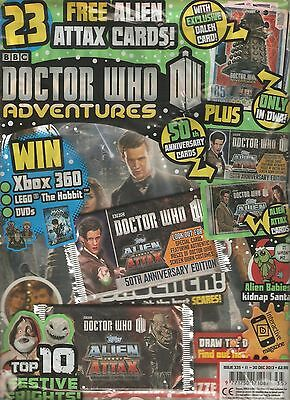 DOCTOR WHO ADVENTURES #335, December 2013 - BRAND NEW & STILL SEALED