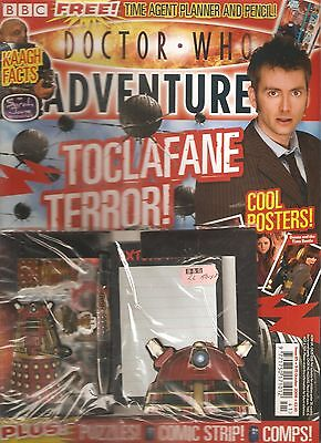 DOCTOR WHO ADVENTURES #85, Oct 2008 - FREE TIME AGENT PLANNER & PENCIL