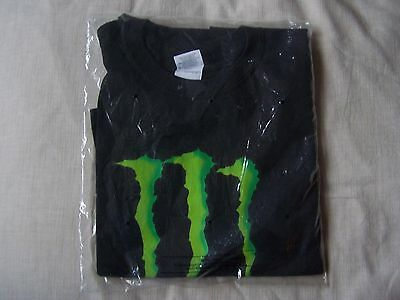 MONSTER ENERGY Tee Shirt Size Large, New