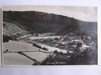 R/P POSTCARD - THE VALE OF TINTERN & ABBEY - MONMOUTHSHIRE WALES - c.1935