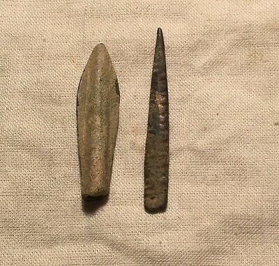 Central Asia, Mongols warriors arrow heads. Found in Kyrgyzstan