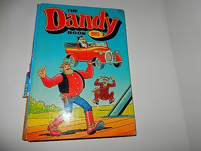 The Dandy book 1985 with price , clean and good order