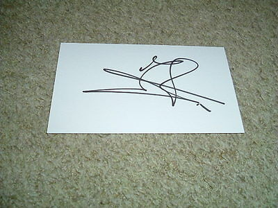 Jaap Stam - Reading - 2016-2017 - Signed 5 X 3 White Card