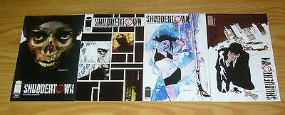 Shuddertown #1-4 VF/NM complete series - nick spencer - image comics 2 3 set lot