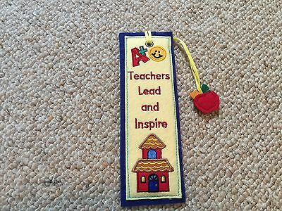 """Teachers Lead and Inspire,"" Bookmark."