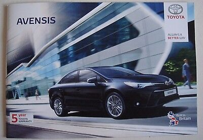 Toyota . Avensis . Toyota Avensis . May 2016 Sales Brochure