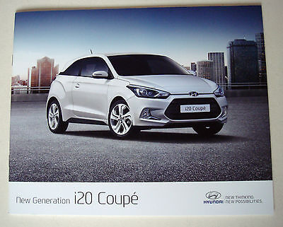 Hyundai . i 20 Coupe . New Generation i 20 Coupe . March 2015 Sales Brochure