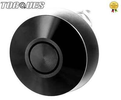 Torques 32mm Black Anodised Rapid Quick Release Push Clip Bonnet/Panel Latch