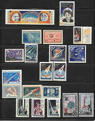 Russian Stamps  (Space  Travel )