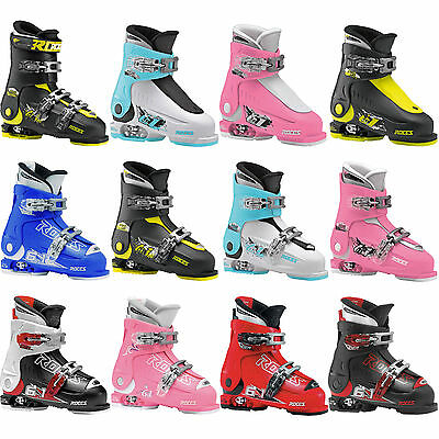 Roces Idea Up Free 6 in 1 Children's Ski Boots Size adjustable NEW