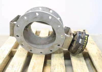 Roto-disc Stainless Flanged Spherical Valve 10in 150