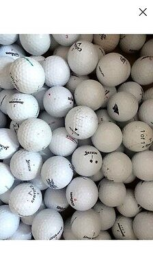 Job Lot 100 Golf Balls Used Pearl/a Grade Condition Mixed Brands