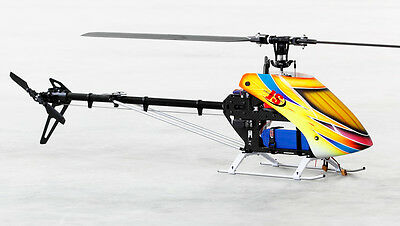TZ Frenzy 600E DFC Flybarless Electric 3D Helicopter Kit