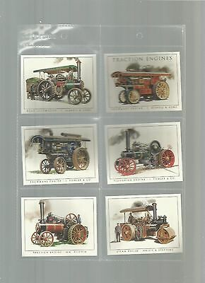 Golden Era - Traction Engines - A complete set of 10 cards