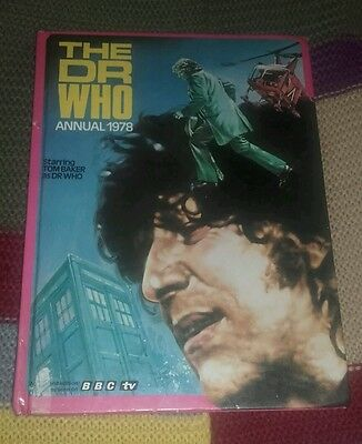 Doctor Who Annual 1978 Tom Baker Good Condition
