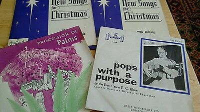 "4 x Christian Church (7"" vinyl EP's) TOWER Label (RARE)"