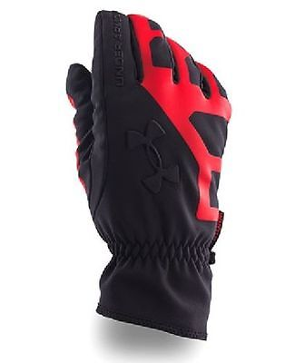 Under Armour 1249435 600 ColdGear® Infrared Storm Stealth Mens Gloves Sz S