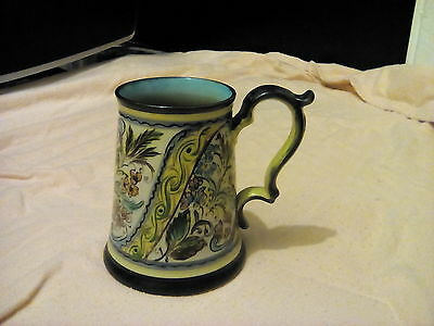 Large Denby Glyn Colledge Hand Painted Tankard, Signed To Base