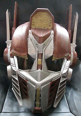 STEAMPUNK transformers optimus prime mask helm working MAD SCIENTIST LABORATORY