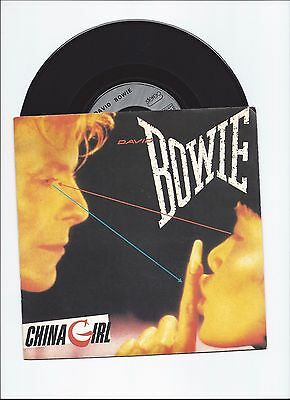 David Bowie Original Single China Girl From France