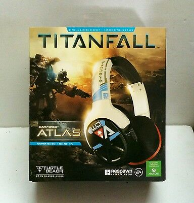 NEW Turtle Beach Titanfall Ear Force Atlas Official Xbox One 360 PC Headset