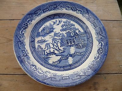 Antique Maling CTM Willow Patterned Plate