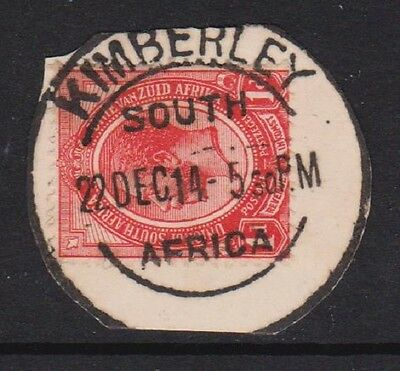 South Africa Postmark - Kimberley 1914