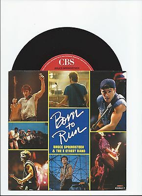 Bruce Springsteen Born To Run/johnny 99 Live Single From Holland