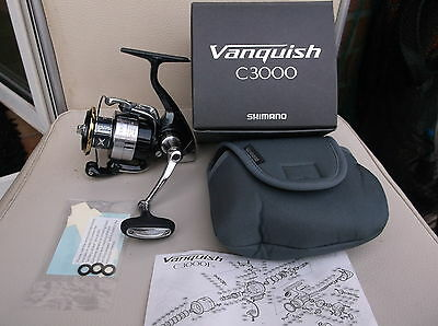 Shimano Vanquish C 3000 Spinrolle Angelrolle Fishing Reel Stationärrolle Angeln