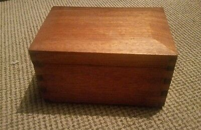 Lovely old wooden box