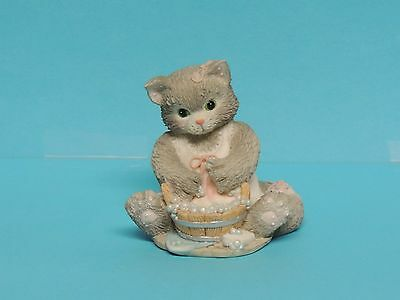 Collectible Enesco Calico Kittens Cat Kitty