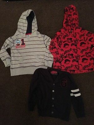 Boys Jumper And Cardigan Bundle Age 3-4 Years