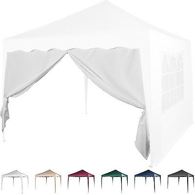 Side Wall Pavilion 3x3m Pop-up tent Zip white